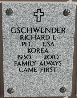 Richard Lawrence Gschwender