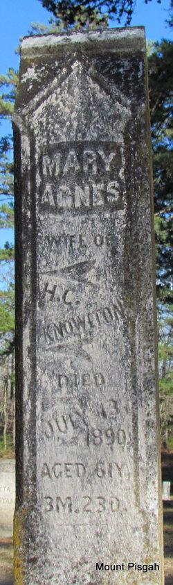 Mary Agnes <i>Stone</i> Knowlton