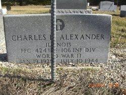 Pvt Charles Huber Bud Alexander