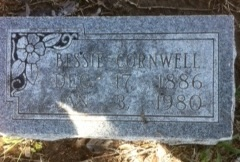 Bessie <i>Smith</i> Cornwell