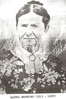Martha Patsey <i>Browning</i> Jones Moore