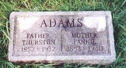 Thurston Hudson Adams