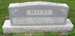 Blanche Viola <i>Martin</i> Myers