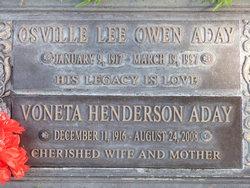 Voneta <i>Henderson</i> Aday