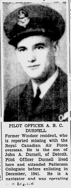 Flying Officer Archibald Durnell