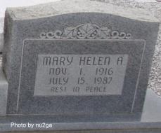 Helen <i>Allen</i> Brown