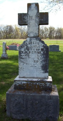 Mrs Elizabeth M Lizzie <i>O'Shaughnessy</i> Berney