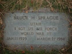 Sgt Bruce Harold Sprague