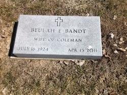 Beulah E Bandt