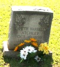 Mattie Pendleton <i>Harrell</i> Atchley