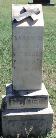 Sarah Elizabeth <i>Janes</i> Elder