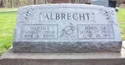 Martha <i>Blackert</i> Albrecht