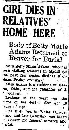 Betty M. Adams