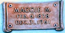 Maggie M <i>LaBarre</i> Hawkins