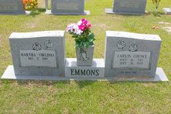 Martha Virginia Emmons