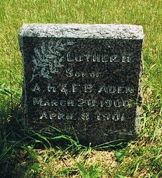 Luther H Aden