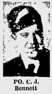 Pilot Officer Cecil Bennett