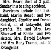 Linda <i>Blackwell</i> Beard