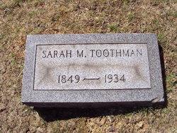Sarah Matilda <i>Wells</i> Toothman