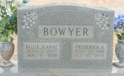 Billie Jeanne Bowyer