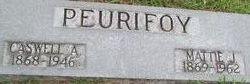 Caswell Albert Peurifoy