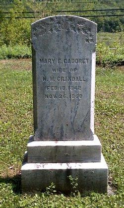 Mary Elizabeth <i>Cadoret</i> Crandall