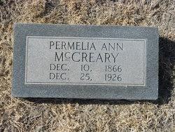 Permelia Ann <i>Offutt</i> McCreary