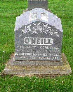 Catherine M <i>O'Neill</i> Lang
