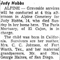 Judy Hobbs