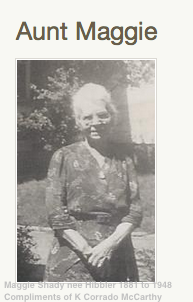 Margaret Rebecca Maggie <i>Hibbler</i> Shady