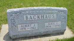 Alice Louise <i>Christofferson</i> Backhaus
