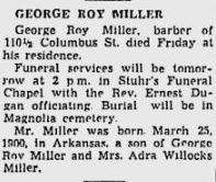 George Roy Miller