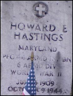 Corp Howard E Hastings