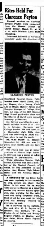 Clarence Edward Peyton