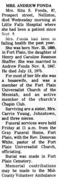 Rita <i>Shaffer</i> Fonda