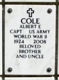 Albert Eugene Cole