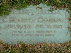Sgt Charles Meredith Chambers