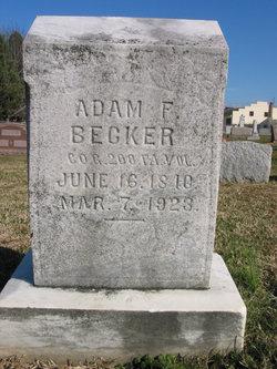 Adam Francis Becker