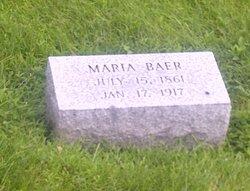 Magdalena Maria <i>Hunsinger</i> Baer