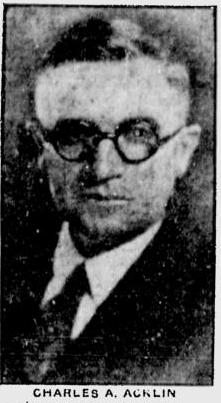 Charles A Acklin