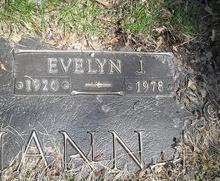 Evelyn Josephine <i>Brazgel</i> Brinkmann