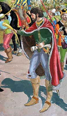 Sir John Duke of Lancaster of Gaunt Plantagenet