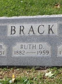 Ruth Rebecca Rachel Bell Dimmit <i>Blackwell</i> Brack