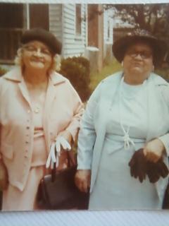 Mrs Bertha L aunt Bertha <i>Cofer</i> Crocker