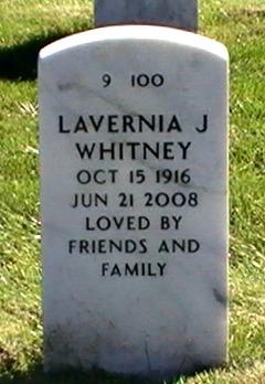 Lavernia J. <i>Jones</i> Whitney