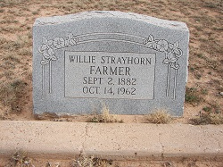 Willie Bob <i>Strayhorn</i> Farmer