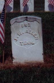 Pvt James W. Allen