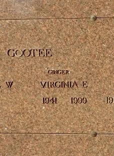 Virginia E Ginger Gootee