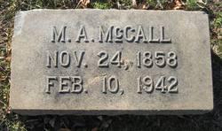 Martha Allace <i>Biggers</i> McCall