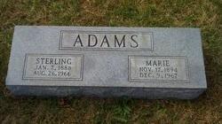 Marie <i>Duncan</i> Adams